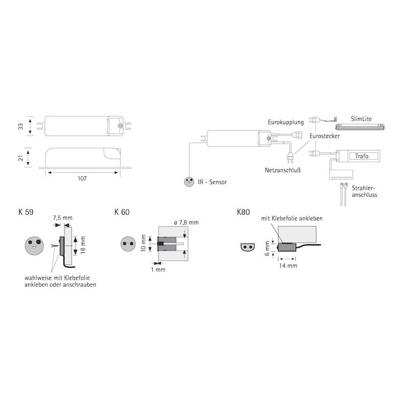 Berührungsloser Lichtschalter - 2