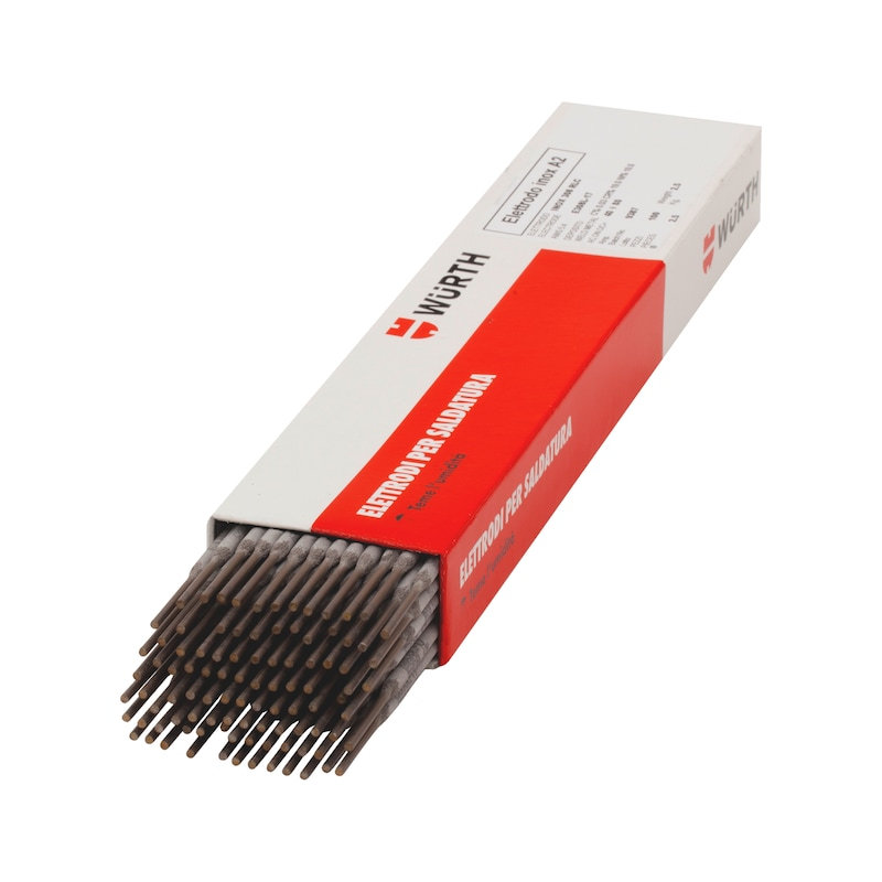 Elettrodo per acciaio inox A2 - ELETTRODI P/INOX A2   3,25X350  75PZ