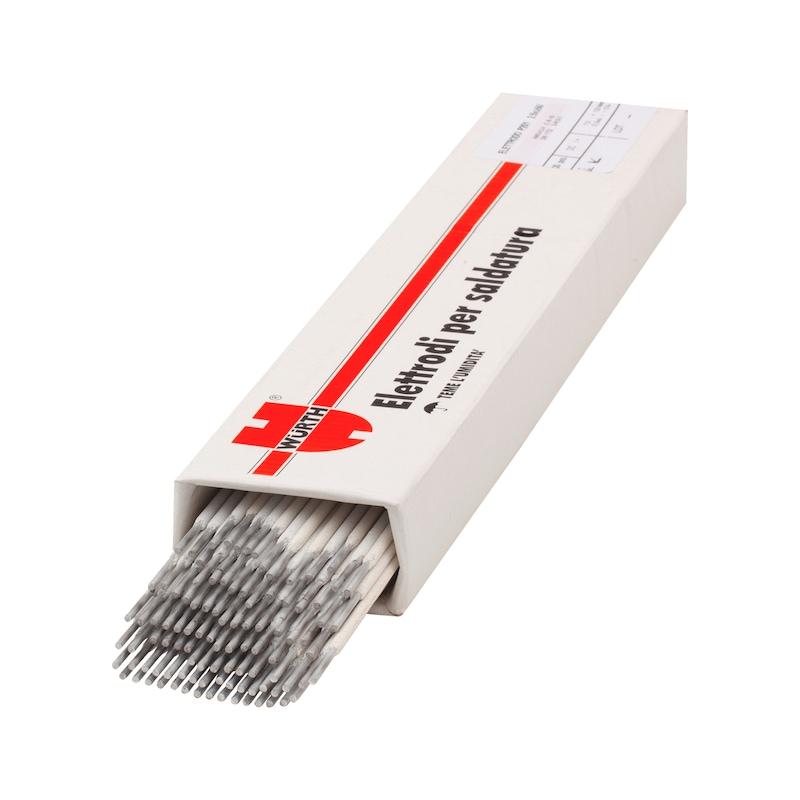 Elettrodo per alluminio - ELETTRODI P/ALLUMINIO 2,5 X350 100PZ