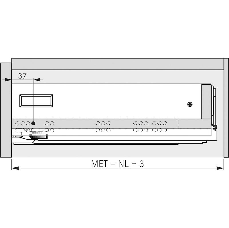 Zargen-Set Vionaro H89 - ZARGSYS-VION-SET-SILBRGRAU-H89-40KG-300