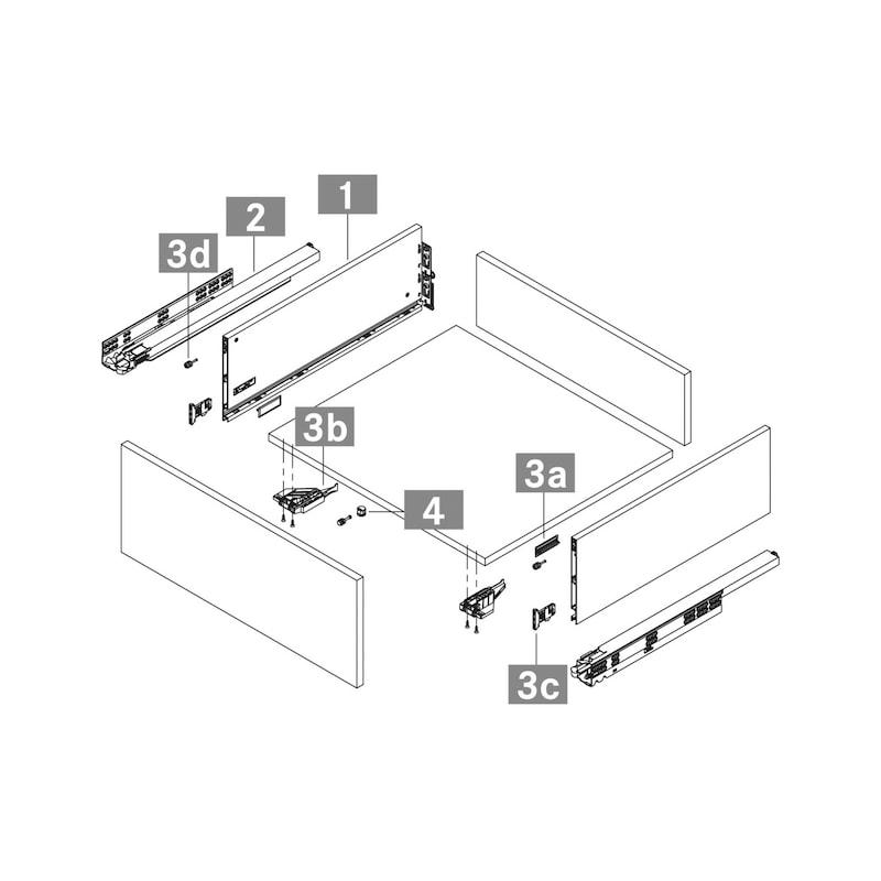 Zargen-Set Vionaro H185 - 12