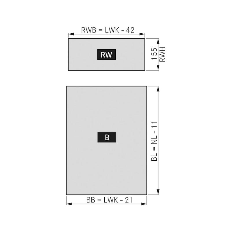Frame Vionaro H185 - 4