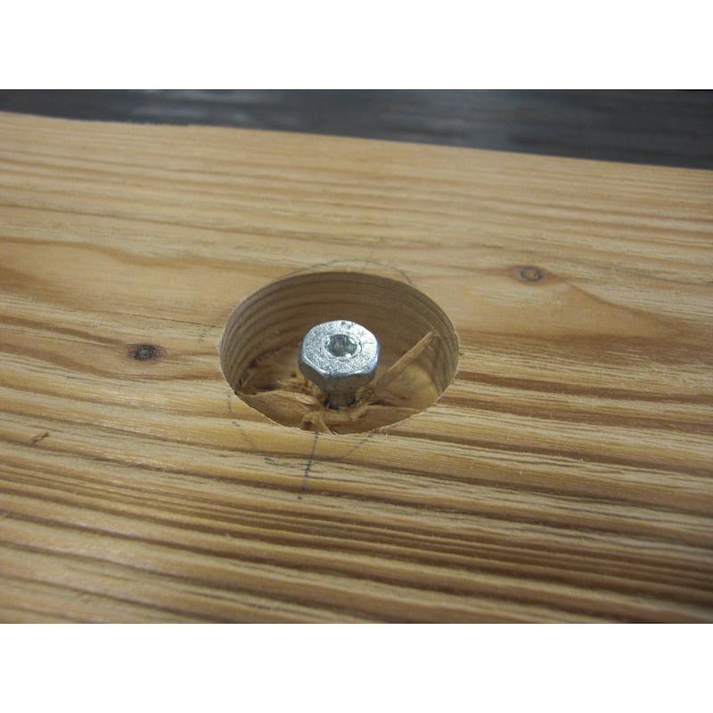 ASSY<SUP>®</SUP> 4 Combi T - Ancorante di trasporto Acciaio zincato, filetto parziale, testa esagonale - 12