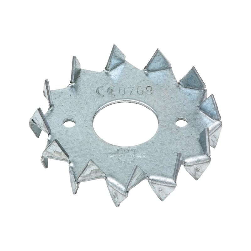 Scheibendübel mit Zähnen zweiseitig Typ C1