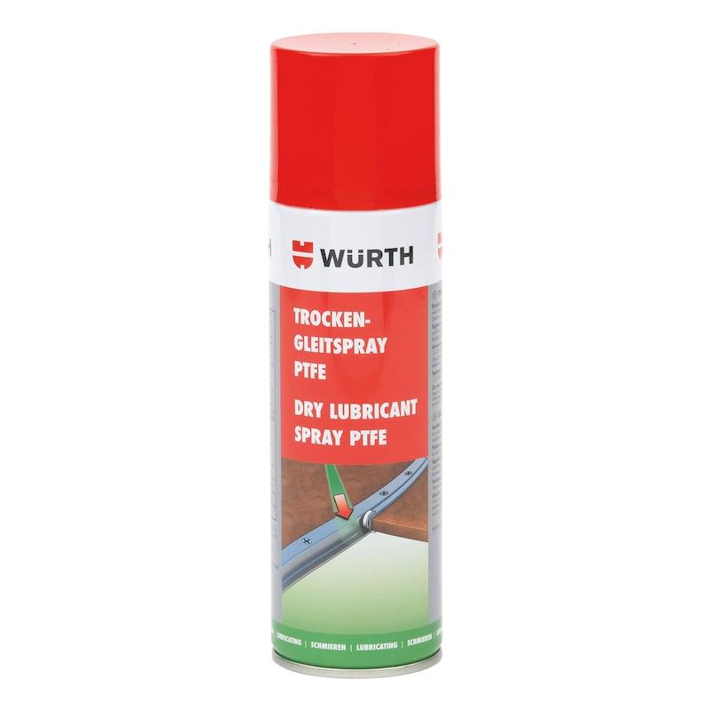 Spray lubrifiant sec PTFE - LUBRIFIANT-SEC-AU-PTFE-BOMBE-300ML