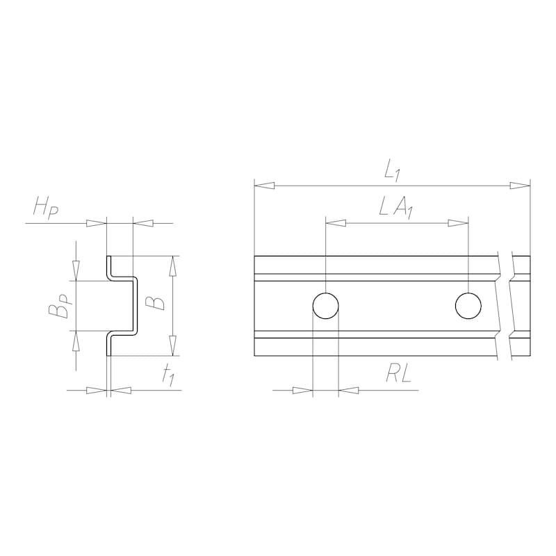 VARIFIX<SUP>® </SUP>Schienenverbinder - C2C - 2