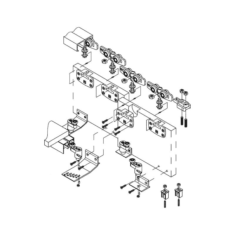 Gleitschienenpuffer - 2
