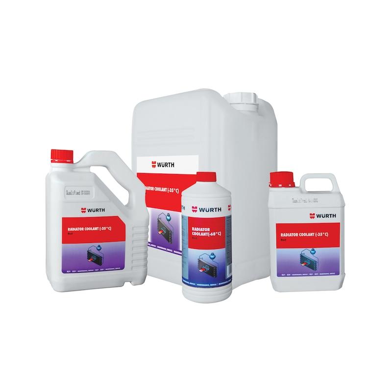 Coolant, organic, antifreeze - CL-ORGAN-BLUE-(-68DGR)-1LTR
