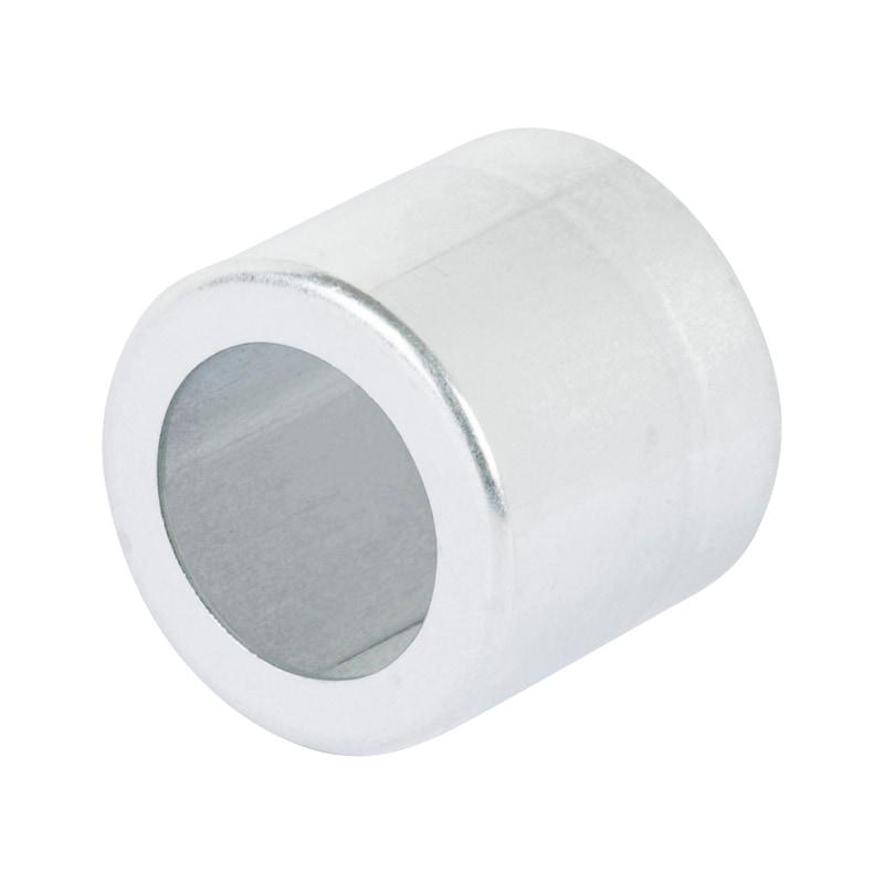 Boccola a pressare bassa pressione  - BOCCOLA- ALLUMINIO-PRESSARE-D36MM