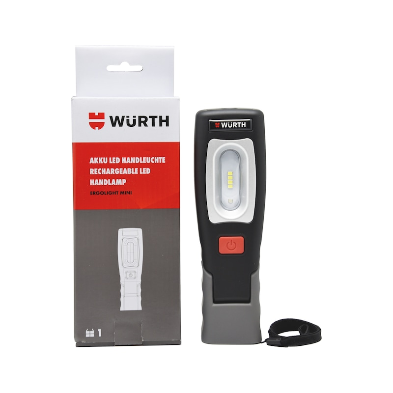 Rechargeable LED Hand Lamp WL Mini 2.5+1 W LED  - LAMP-BTRY-HAND-LED4+1-IP20