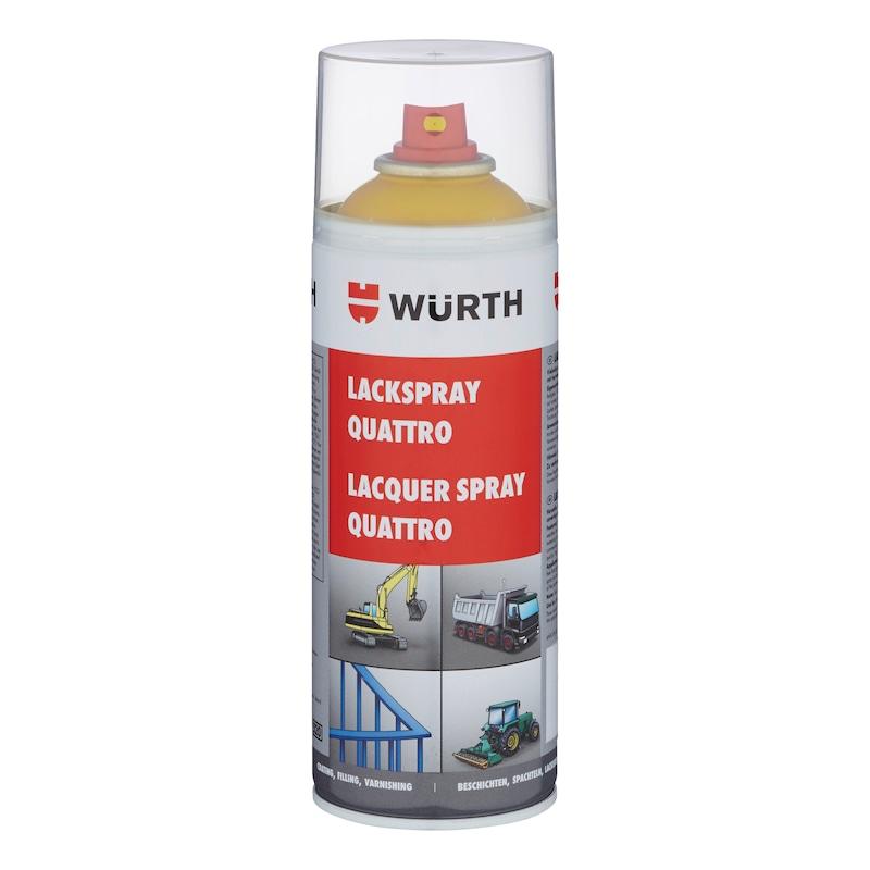 Festékspray Quattro - QUATTRO FESTÉKSPRAY SZIGNÁLSÁRGA 400 ML