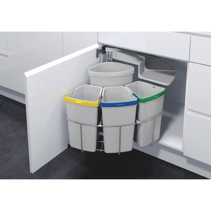 Sistema per la raccolta differenziata VS ENVI Center 4 - 1