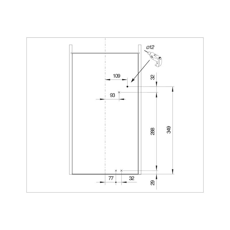Öffnungsunterstützung VS TAL Larder Power Move - 2