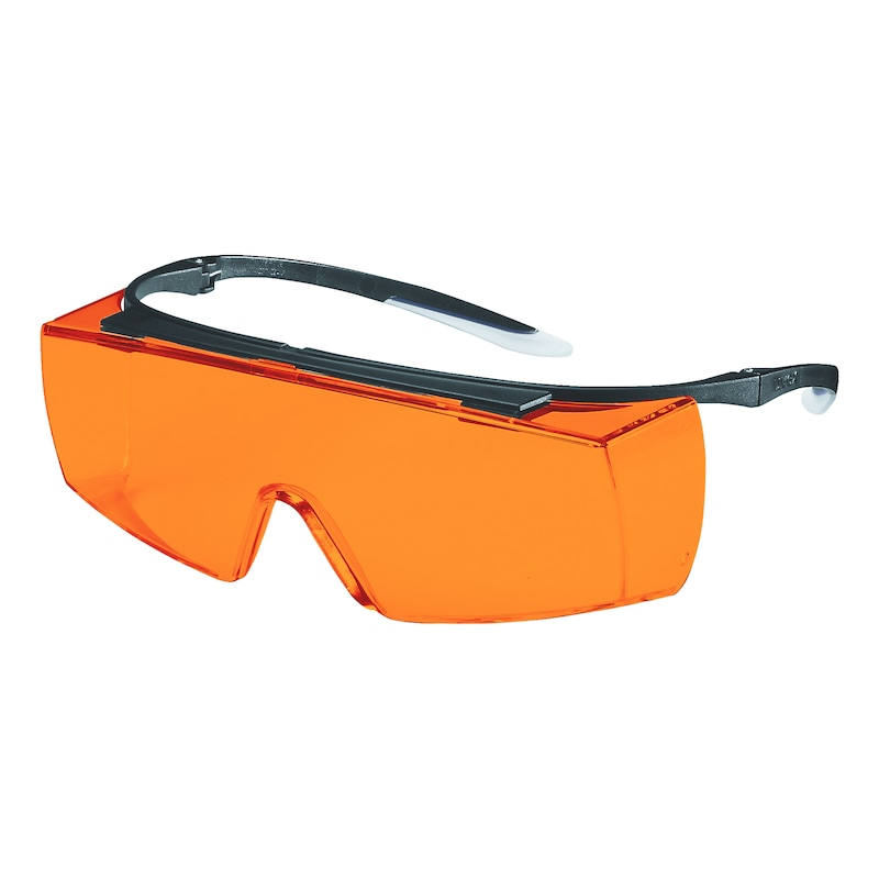 Fits Over Spectacles. Uvex /'Over The Glasses/' Super OTG Welding Safety Glasses