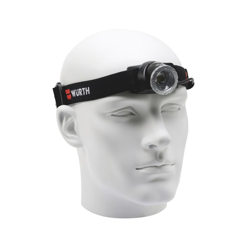 LED-Stirnleuchte wiederaufladbar High-Power SL6R - 1