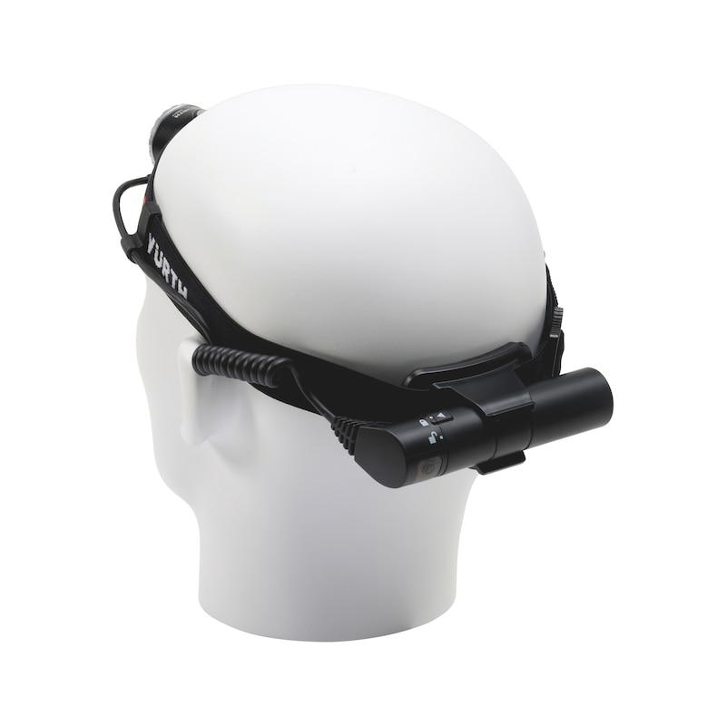 LED-Stirnleuchte wiederaufladbar High-Power SL6R - 2