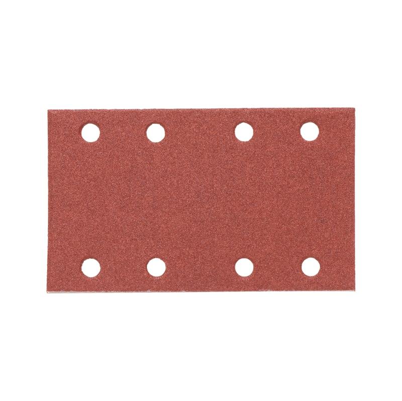 Trockenschleifpapier-Streifen Holz KP perfect - TSPAP-KLETT-BGN-KPC-8LO-P120-81X133MM