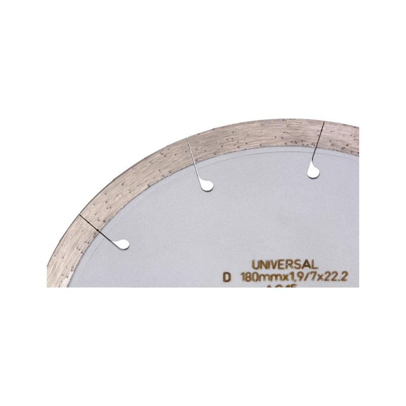 Disque diamant, découpeuse de joints - DISQUE DIAMANT ZEBRA POUR FF180-2