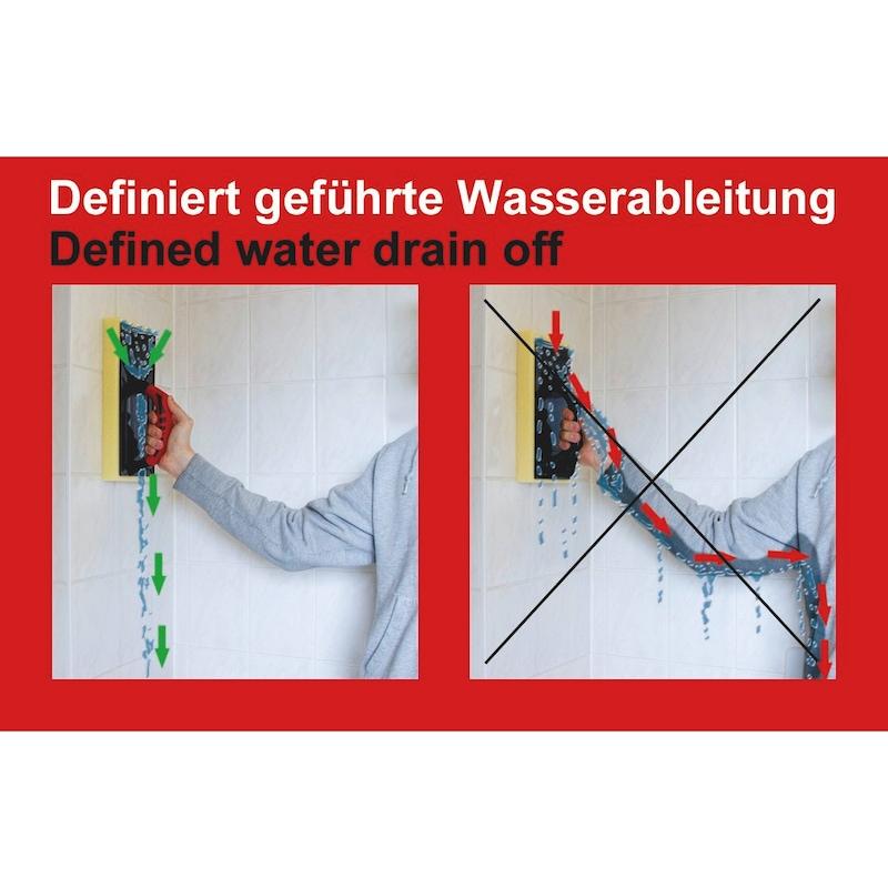 Reibebrett - SBR-RASTERSCHWAMM-HYDRO-320X150X35MM