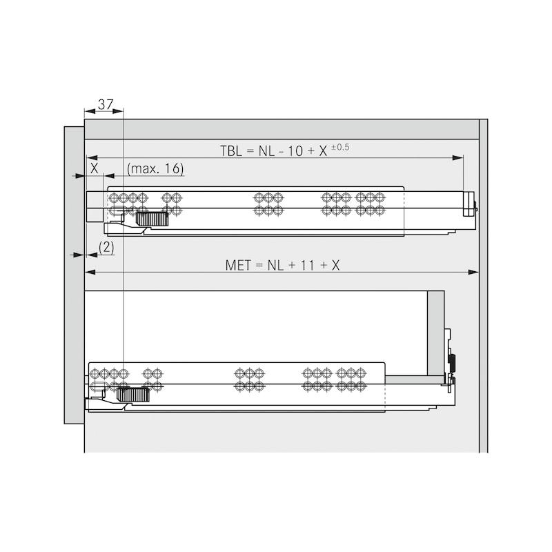 Tablarhalter-Set - 7