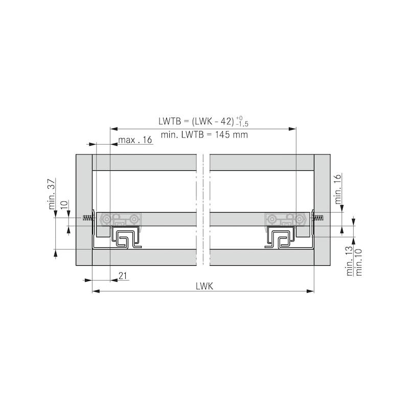 Tablarhalter-Set - 2