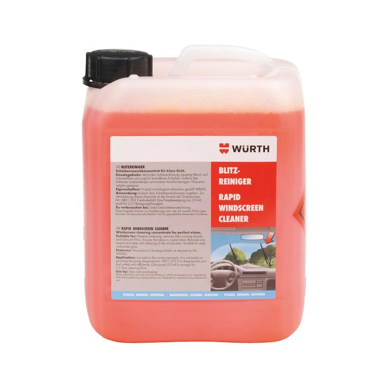 Ruitenvloeistof Ruitensproeiervloeistof, snelreiniger - SNELREINIGER                    5 L