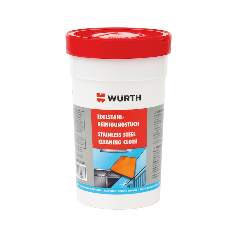 Pano de limpeza para aço inox - TOALHETE LIMP. E POLIMENTO ACO INOX