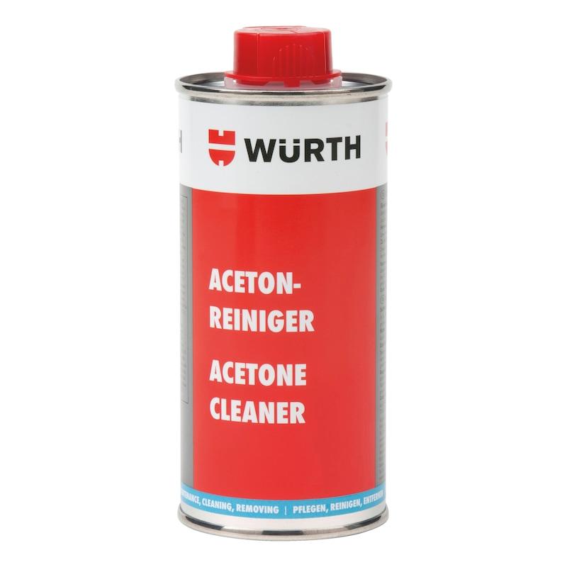 Acetone cleaner - ACETONCLNR-METCLNR-250ML