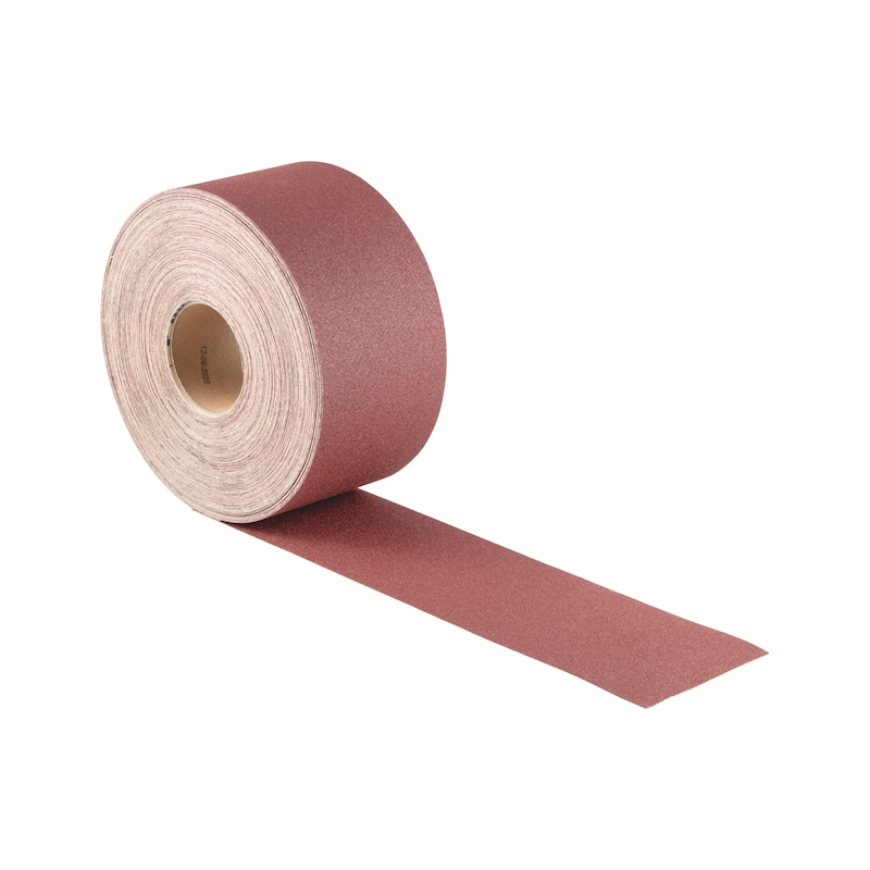 Dry abrasive paper roll, wood KP perfect - 2