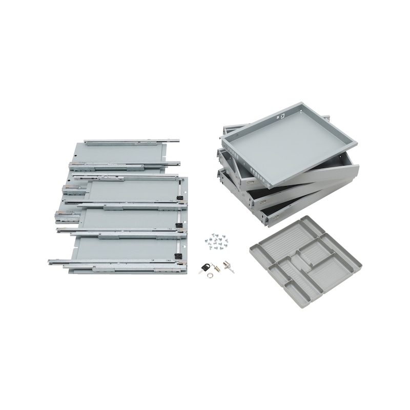 Office container fitting set OrgaAer Speed Office - 1