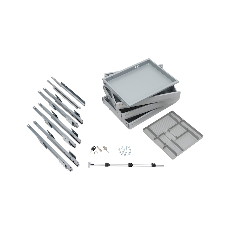 Office container fitting set OrgaAer - 1