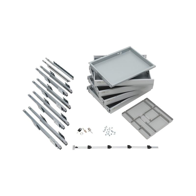 Bürocontainer-Ausstattungsset OrgaAer - 1