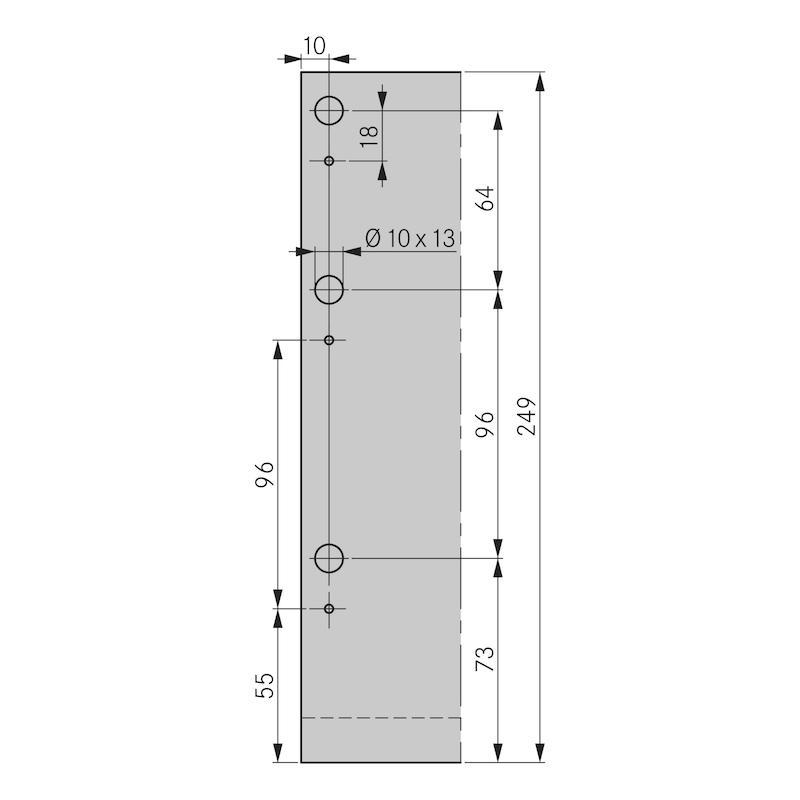 Zargen-Set Nova Pro Scala H250 - 3
