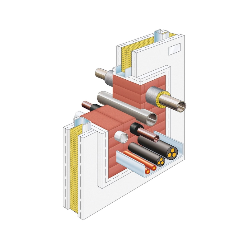 Fire protection block - 2