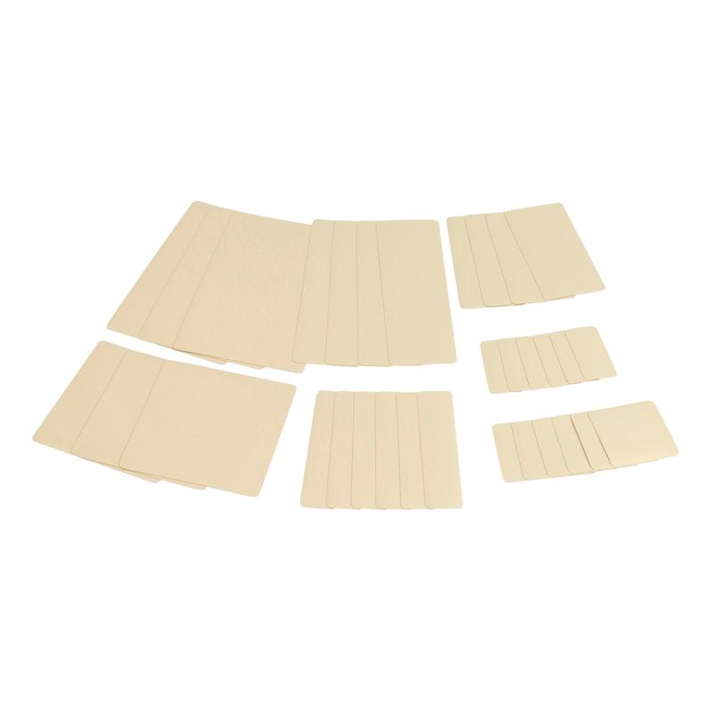 Sistema di riparazione per teloni Kit di rattoppi - KIT RIPARAZIONE TELONI BEIGE