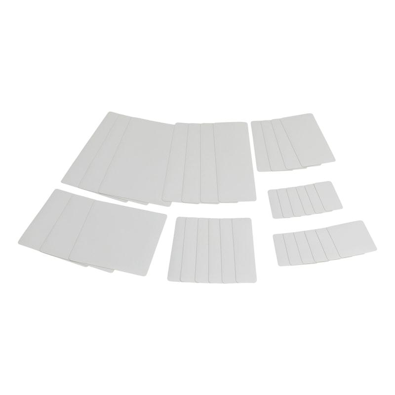 Sistema di riparazione per teloni Kit di rattoppi - KIT RIPARAZIONE TELONI GRIGIO CHIARO