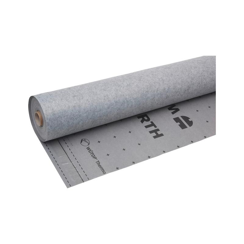 Membrane de protection pour sous-toiture et toit WÜTOP<SUP>®</SUP> Thermo L-SK