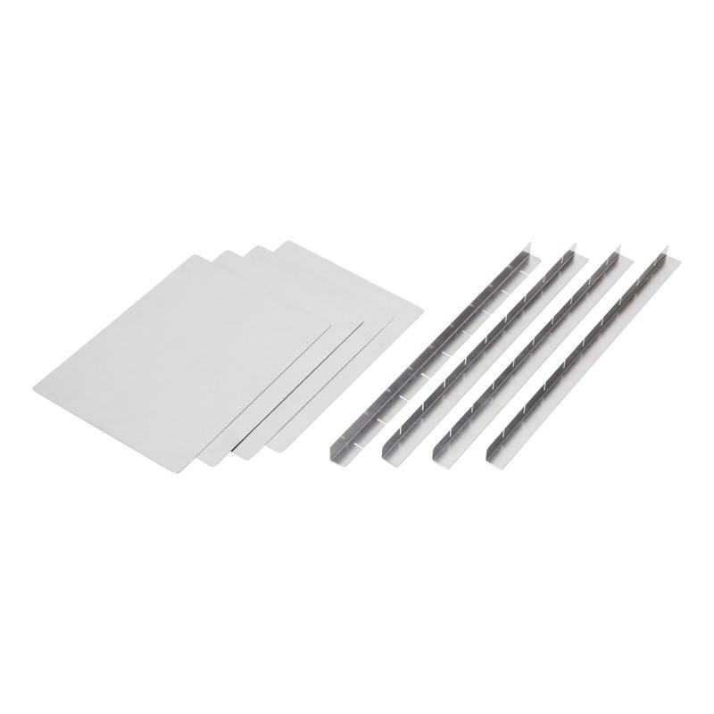Trennwand-Set für Aluminiumbox - 1
