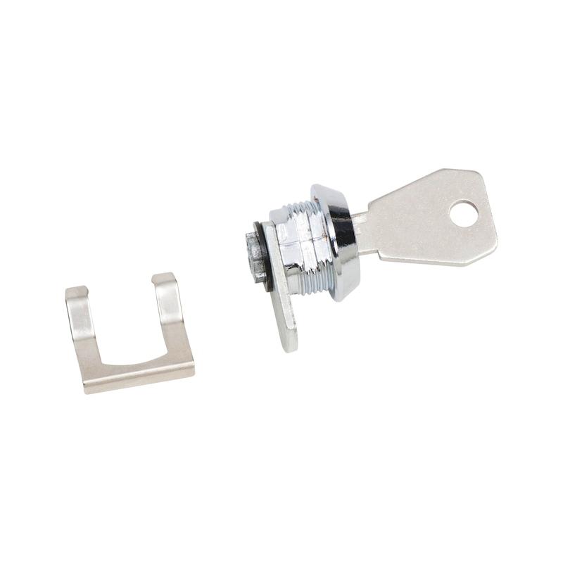 Zylinderschloss für Aluminiumbox - 1