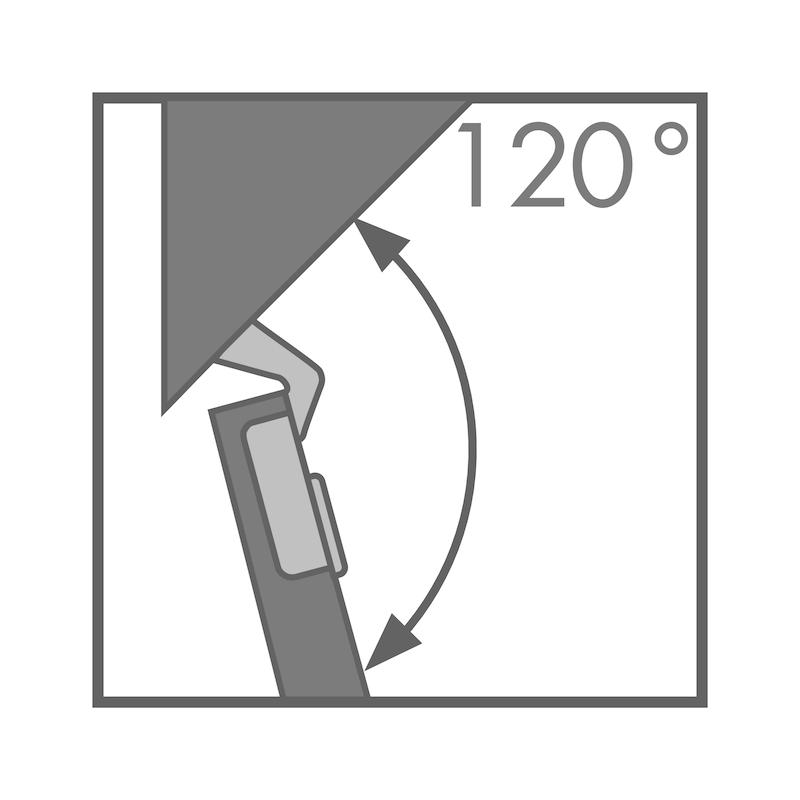 Topfscharnier TIOMOS Impresso 120 / -45 A - 2