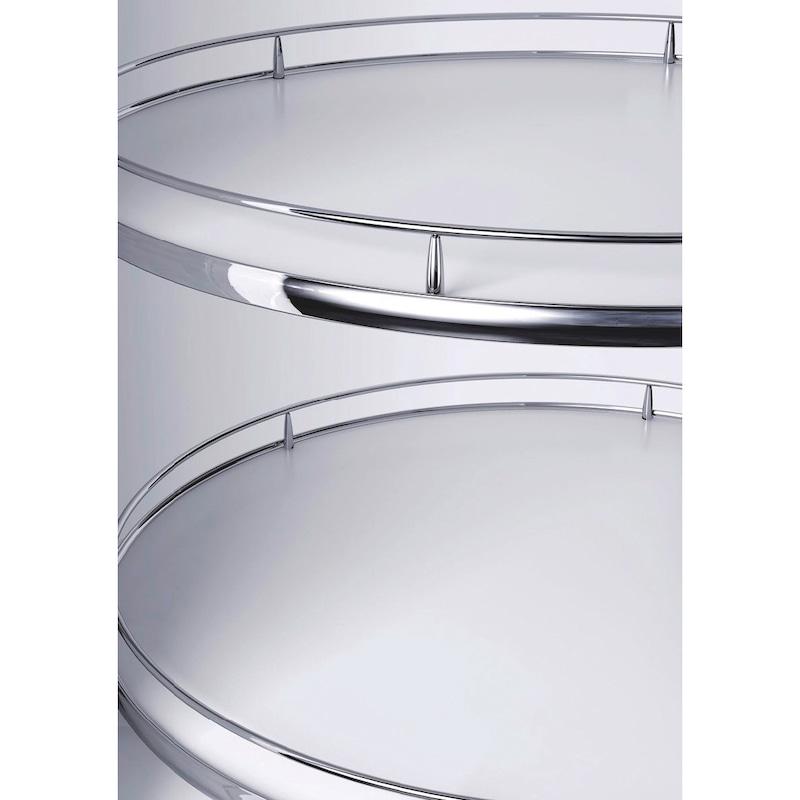 Eckschrank-Drehbeschlag VS COR Wheel Pro - ECKSHRNKDRHBSHLG-SET-4/4BOD-(CR)-600