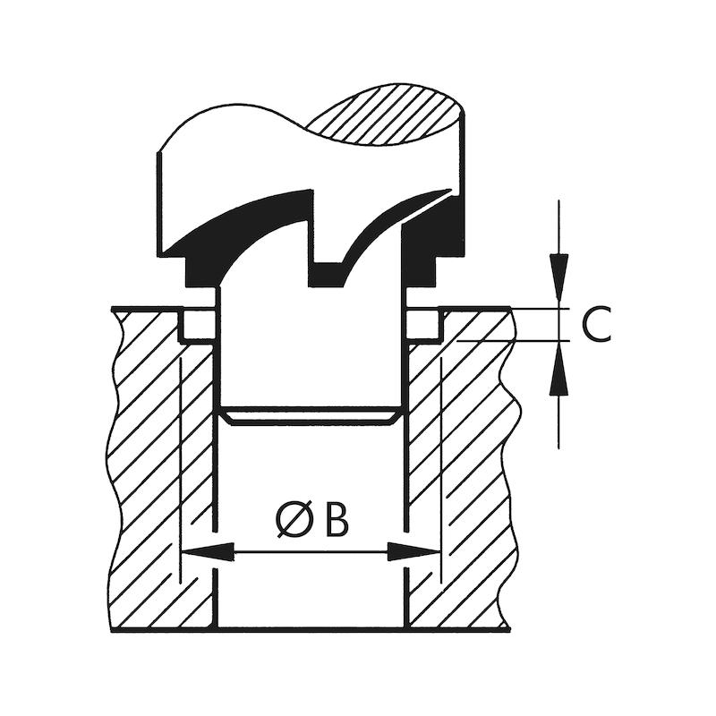 車両スパークプラグ修理用ネジ山付きブッシング タイムサート<SUP>®</SUP> - 4
