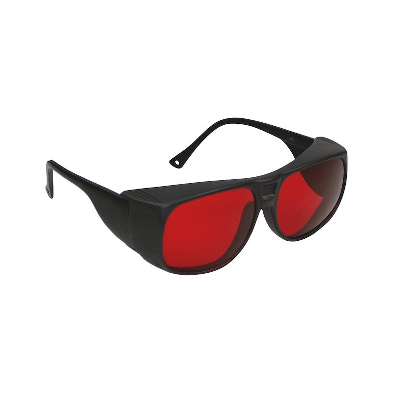 Laserbril, rood