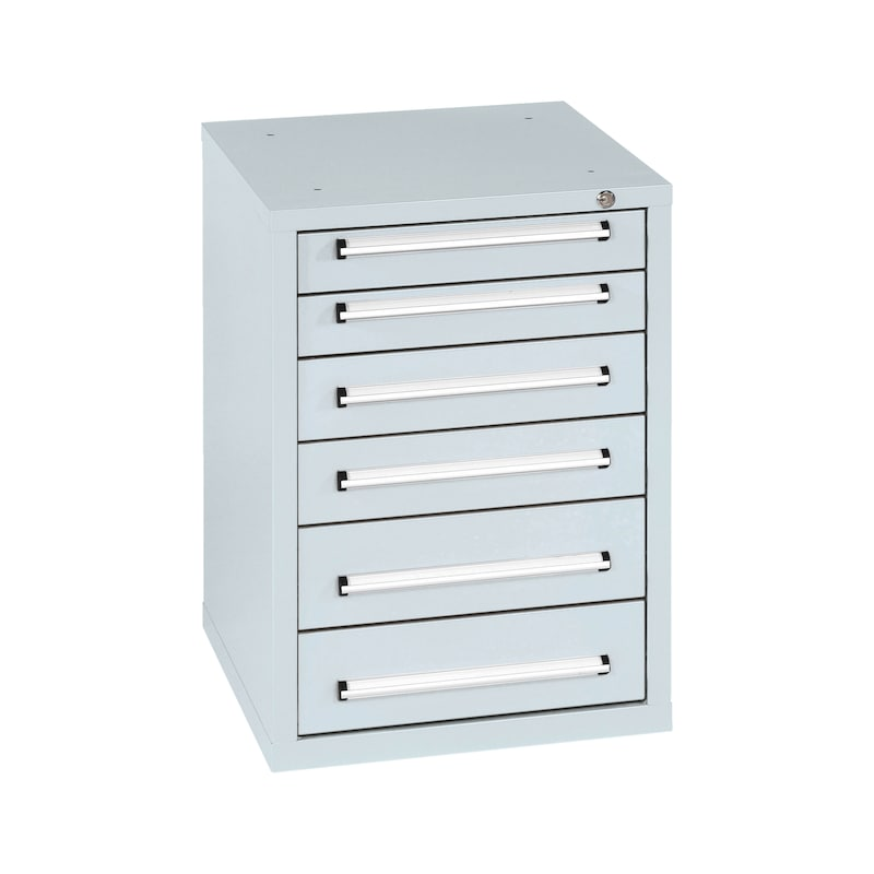 Schubladenschrank PRO - SLSHRNK-PRO-US6-RAL7035