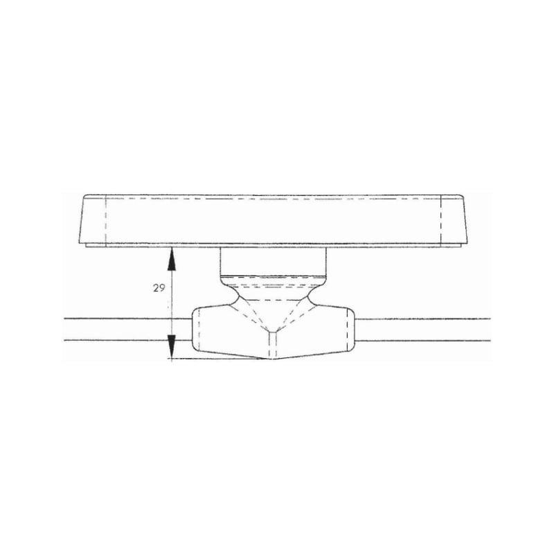 Feu de position latéral orange à leds - FEU POS LAT LED ORANGE CONNEC EN T