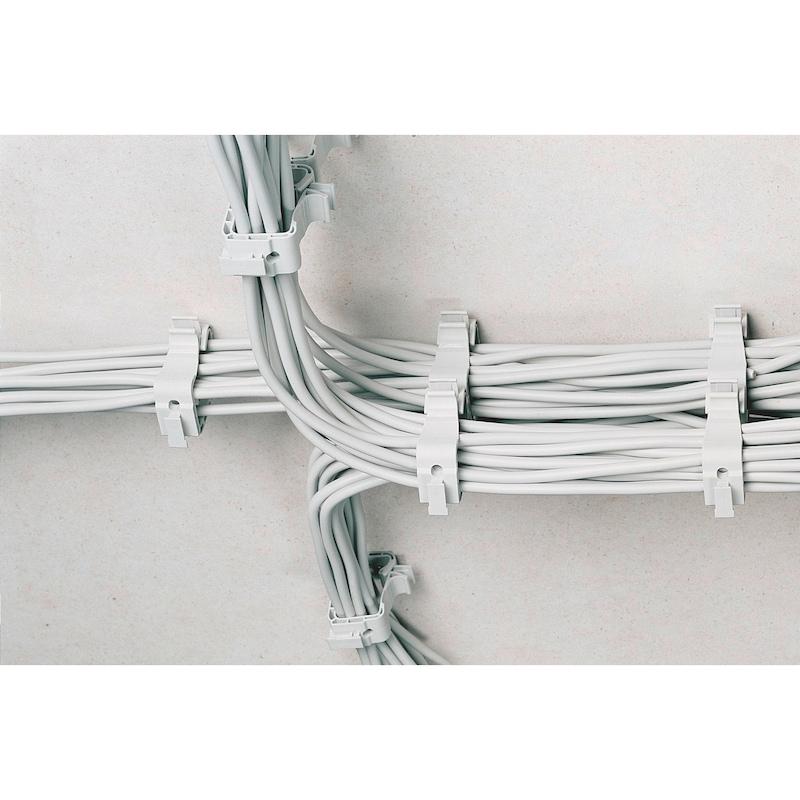 Kabelsammelhalter-Set Allrounder klein - 2