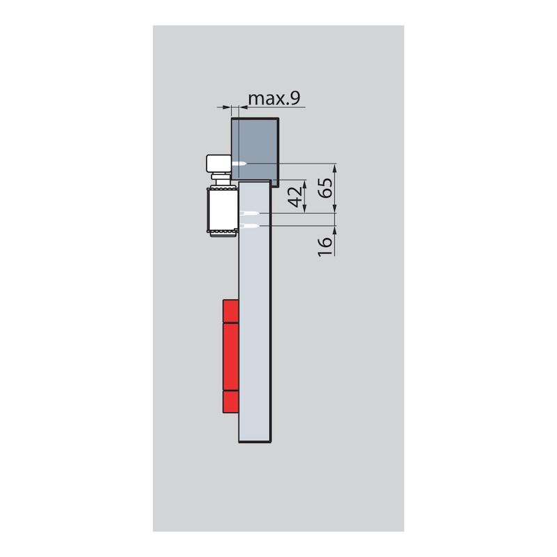 Türschließer GTS  630 mit Gleitschiene - 4