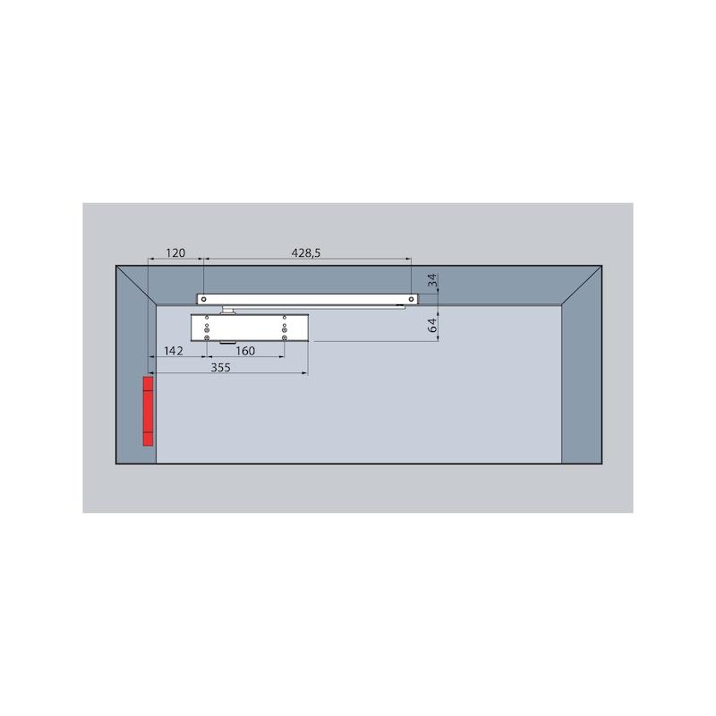 Türschließer GTS  630 mit Gleitschiene - 3