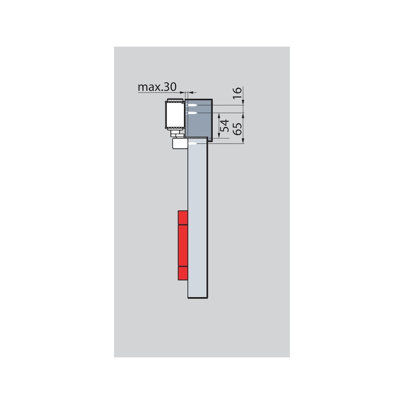 Türschließer GTS  630 mit Gleitschiene - 6