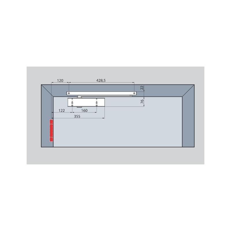 Türschließer GTS  630 mit Gleitschiene - 7